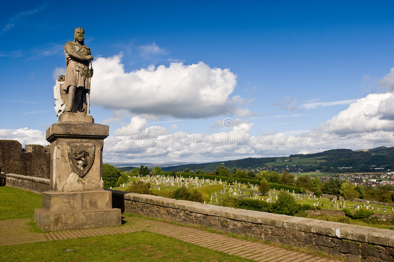Le Roi Robert The Bruce photographie stock