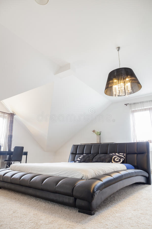 Le Roi Size Bed photographie stock