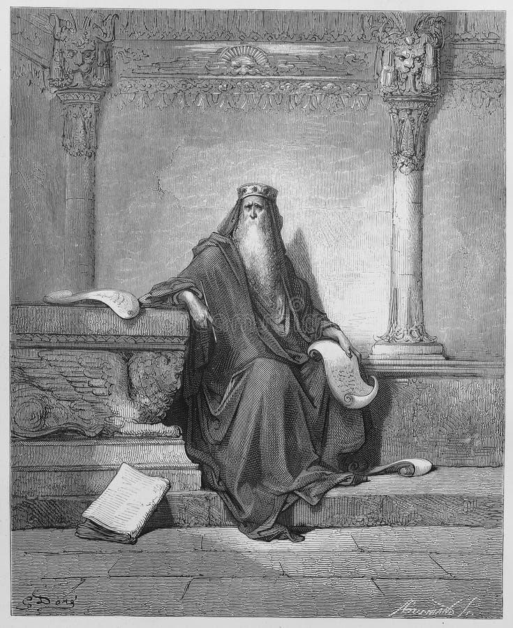 Le Roi Solomon images libres de droits