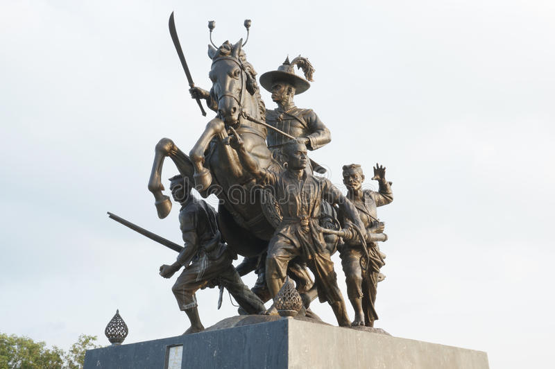 Le Roi Taksin de la Thaïlande photos stock