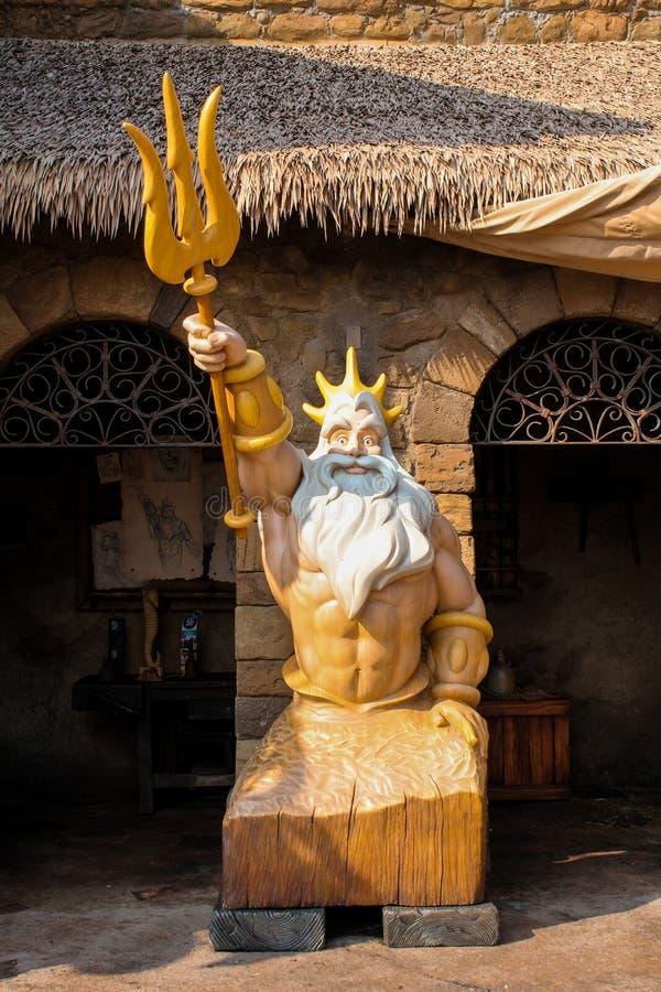 Le Roi Triton Reigns photo libre de droits