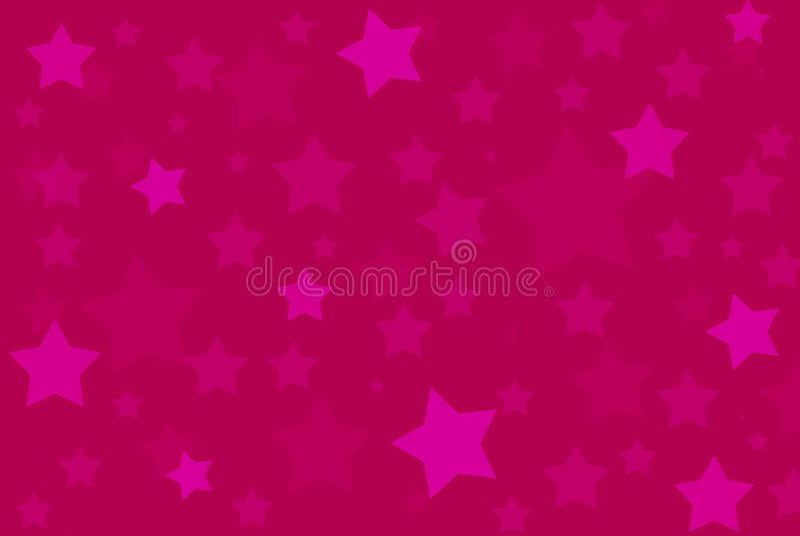 Le rose stars la configuration de fond illustration libre de droits