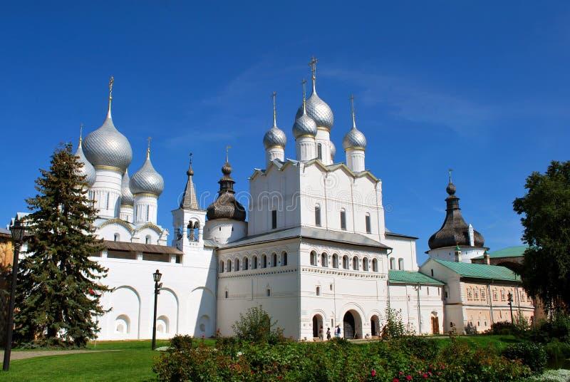 Le Rostov Kremlin en Rostov le grand photographie stock libre de droits