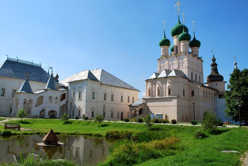 Le Rostov Kremlin en Rostov le grand photo libre de droits