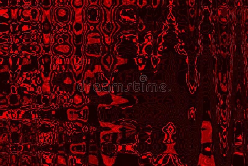 Le rouge abstrait teinte le fond avec la texture grunge image stock