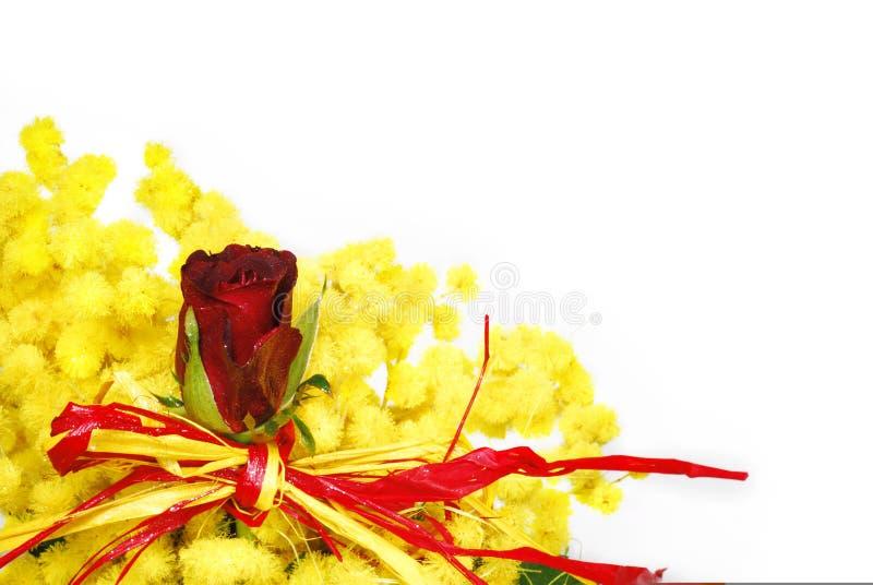 Download Le Rouge De Bouquet A Monté Photo stock - Image du vert, lumineux: 8652526