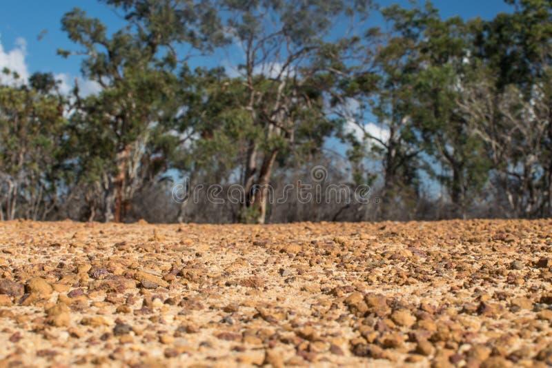 Le rouge de fond lapide l'Australie image libre de droits