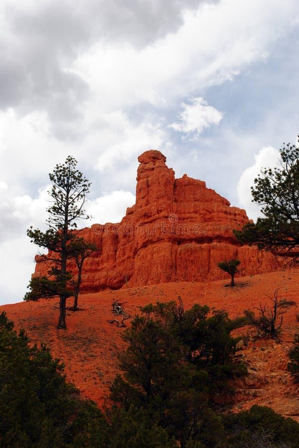 Le rouge de l'Utah bascule 2 images stock