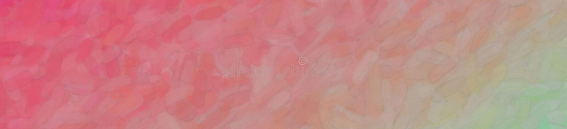 Le rouge et l'aquarelle abstraite d'aqua dans la bannière forment l'illustration de fond illustration de vecteur