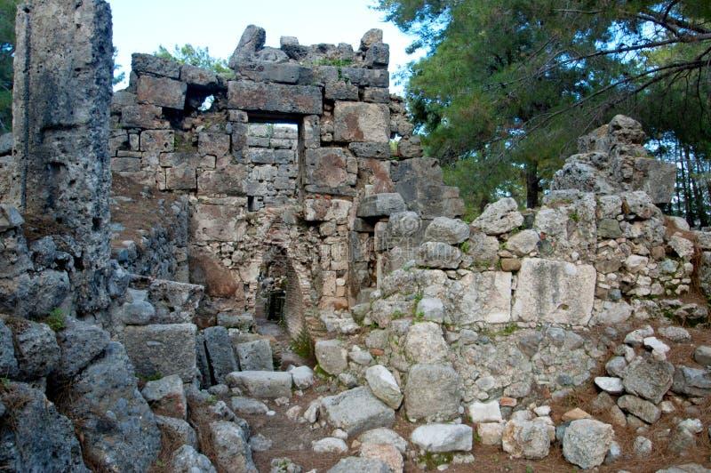 Le rovine delle civilizzazioni antiche ancora extant fotografia stock