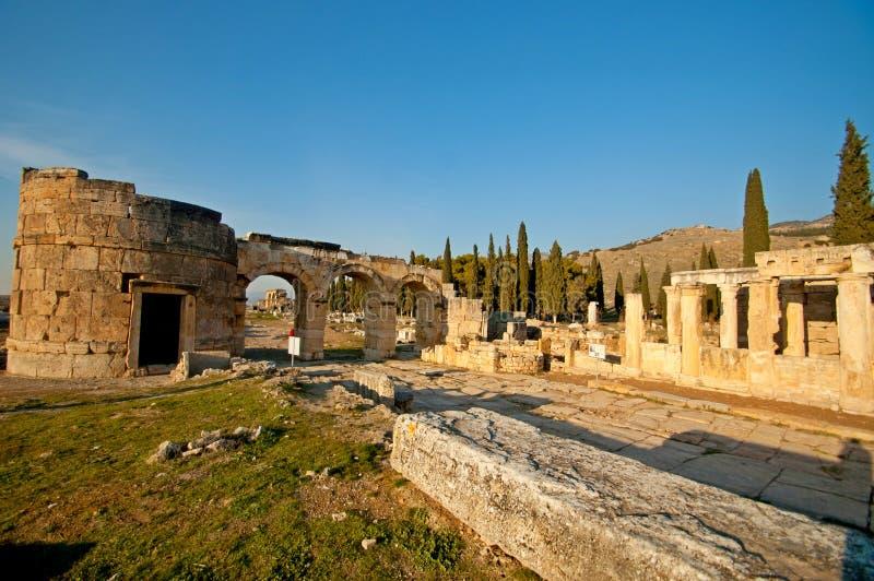 Le rovine delle civilizzazioni antiche ancora extant immagine stock