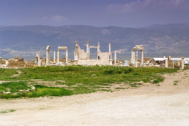Download Le Rovine Di Laodicea Una Città Di Roman Empire In Attuale, Turchia, Pamukkale Fotografia Stock - Immagine di marmo, giorno: 56882318