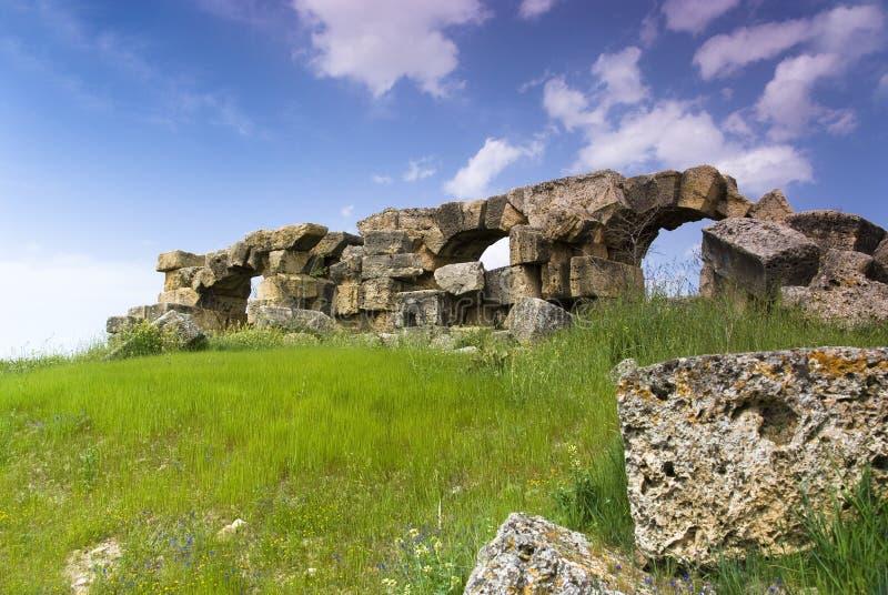 Download Le Rovine Di Laodicea Una Città Di Roman Empire In Attuale, Turchia, Pamukkale Fotografia Stock - Immagine di strada, storico: 56882764