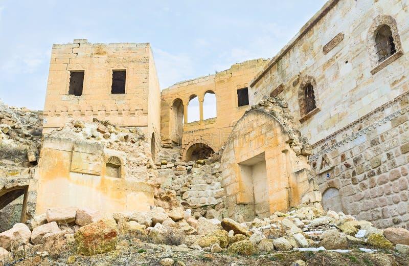Download Le rovine in roccia fotografia stock. Immagine di città - 56876186