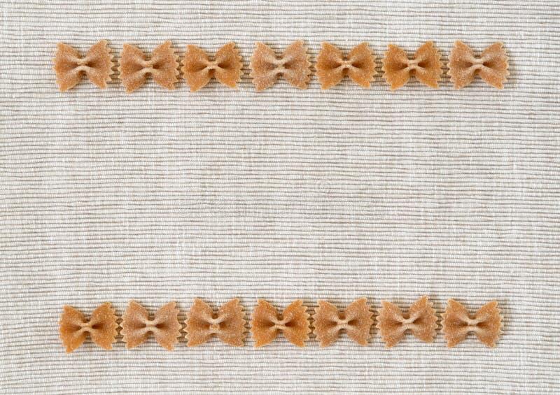 Le ruban a formé le modèle abstrait de conception de fond de texture de pâtes images stock
