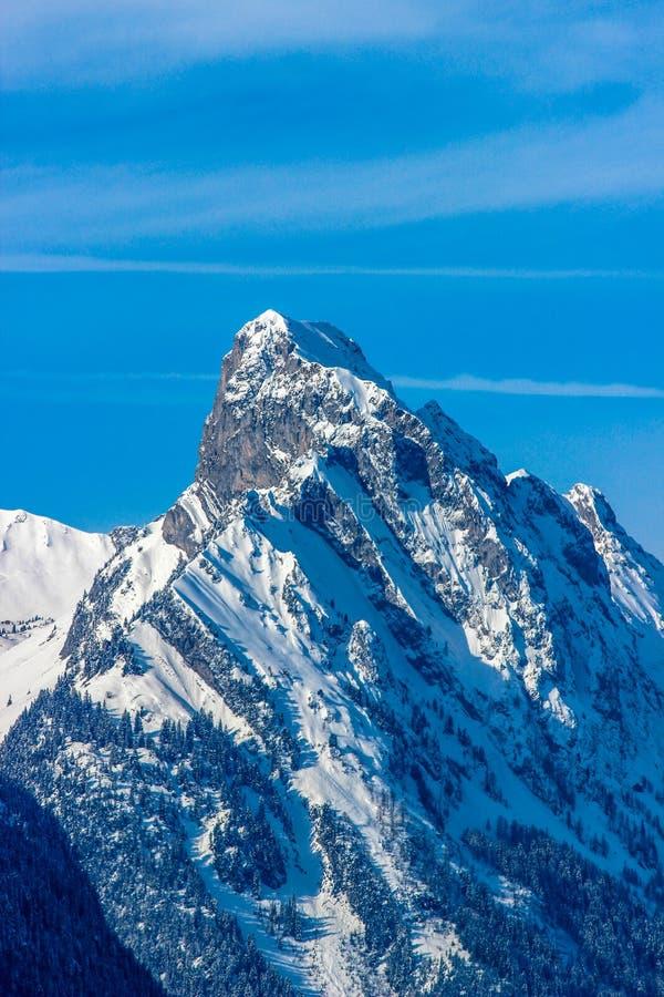 Le Rubli - Rueblihorn, Швейцария стоковое изображение