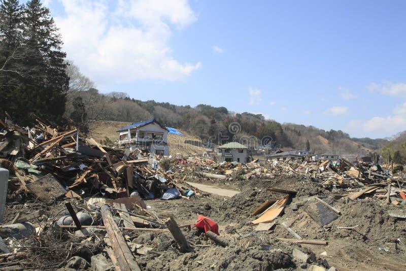 Le séisme est grand du Japon photo libre de droits