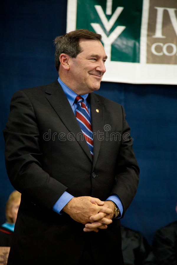 Le sénateur Joe Donnelly des Etats-Unis photo libre de droits