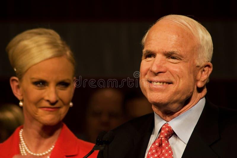 Le sénateur John McCain photos libres de droits