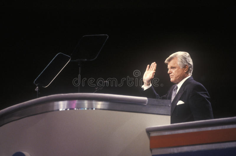 Le sénateur Ted Kennedy image stock
