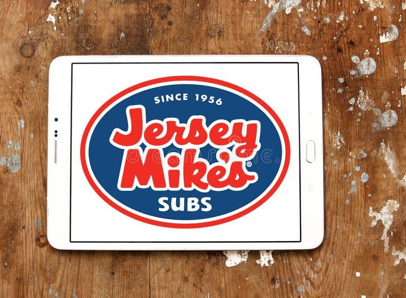 Le ` s de Mike de débardeur substrate le logo de chaîne d'aliments de préparation rapide image stock