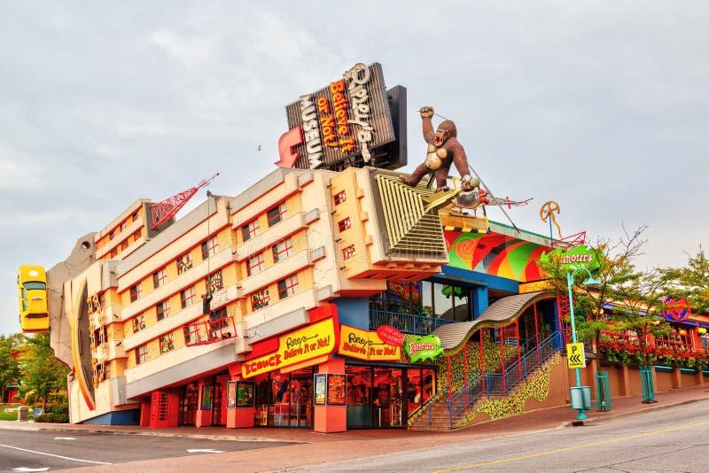 Le ` s de Ripley le croient ou pas ! Bâtiment dans les chutes du Niagara, Ontario, image stock