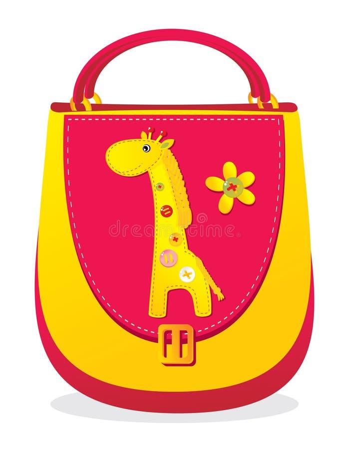 Le sac des enfants illustration stock