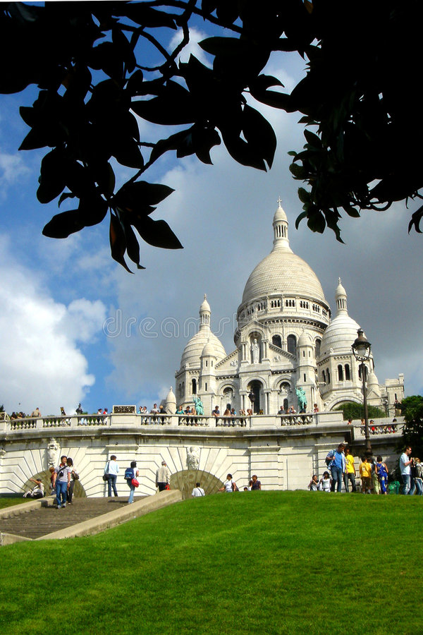 Le Sacre Coeur stock afbeelding