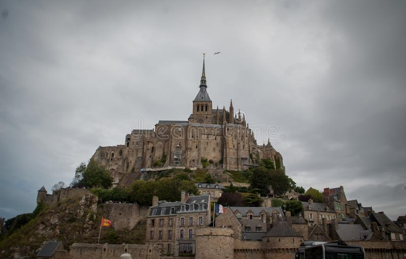 Le Saint Michel de Mont france photographie stock libre de droits