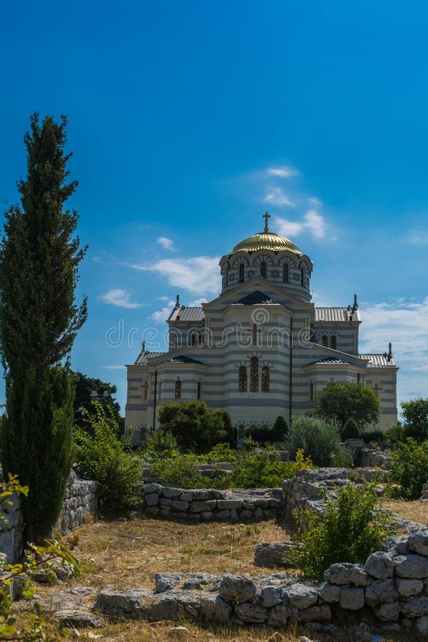 Le saint Vladimir Cathedral photo stock