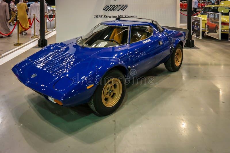 Le Salon de l'Automobile de Dubaï, voiture hyper de cru rare a montré photographie stock libre de droits