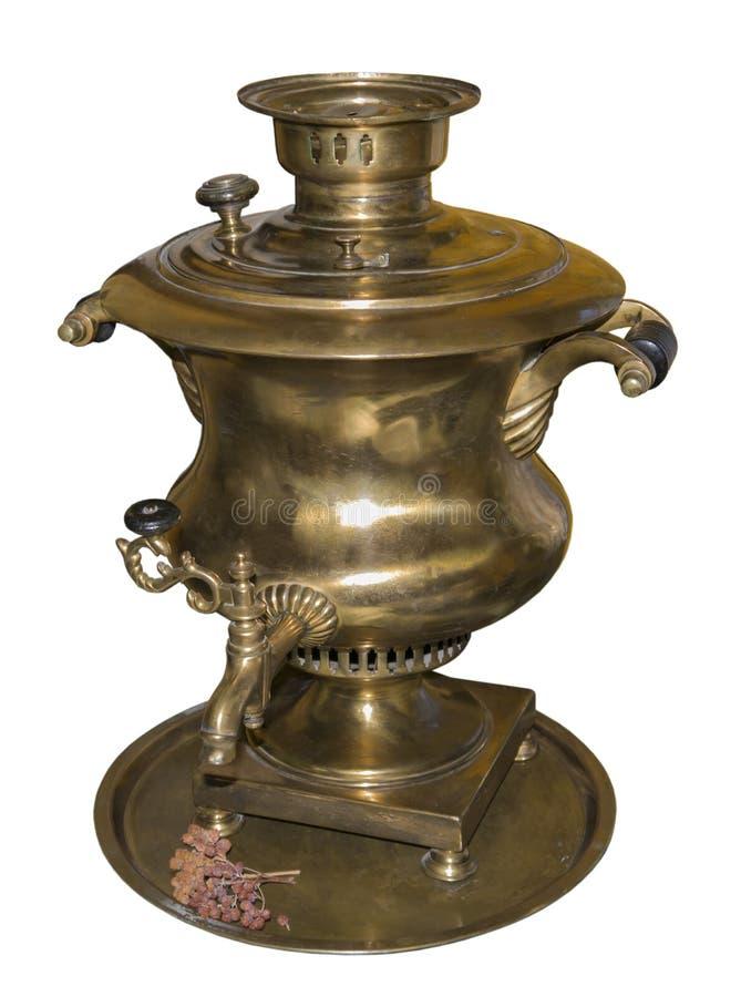 Le Samovar est effectué en 1901 image stock