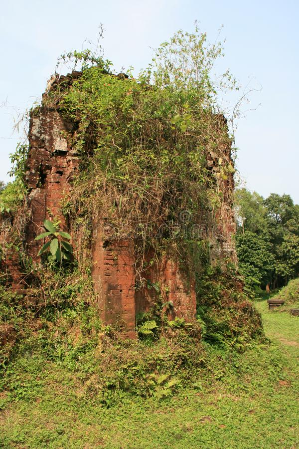 Le sanctuaire Cham de мой сын Вьетнам стоковые изображения
