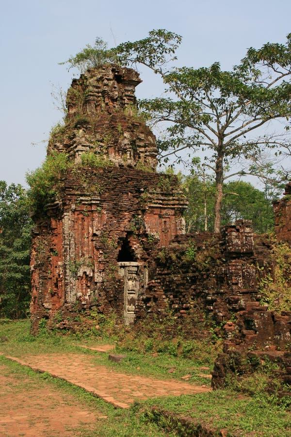 Le sanctuaire Cham de My Son Vietnam immagini stock libere da diritti