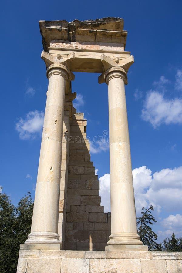 Le sanctuaire d'Apollo Hylates photos stock
