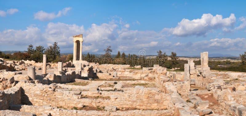 Le sanctuaire d'Apollo Hyllates, Chypre photos stock