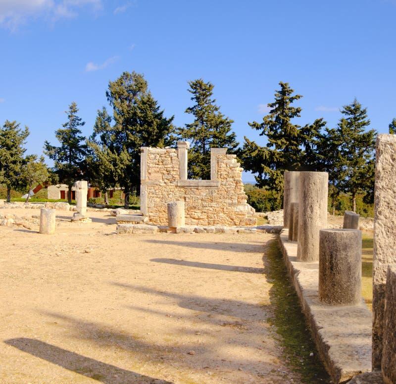 Le sanctuaire d'Apollo Hyllates, Chypre photo stock