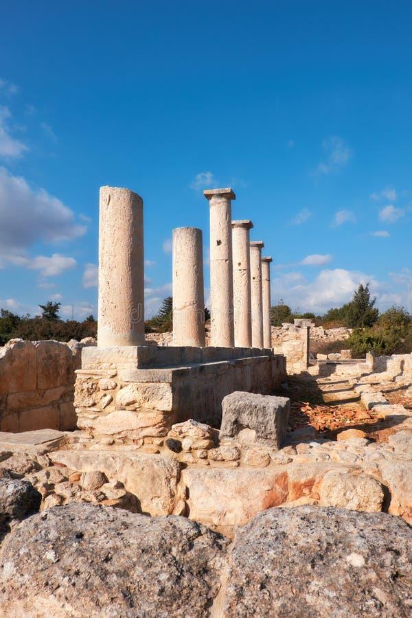 Le sanctuaire d'Apollo Hyllates en Chypre, Grèce image libre de droits