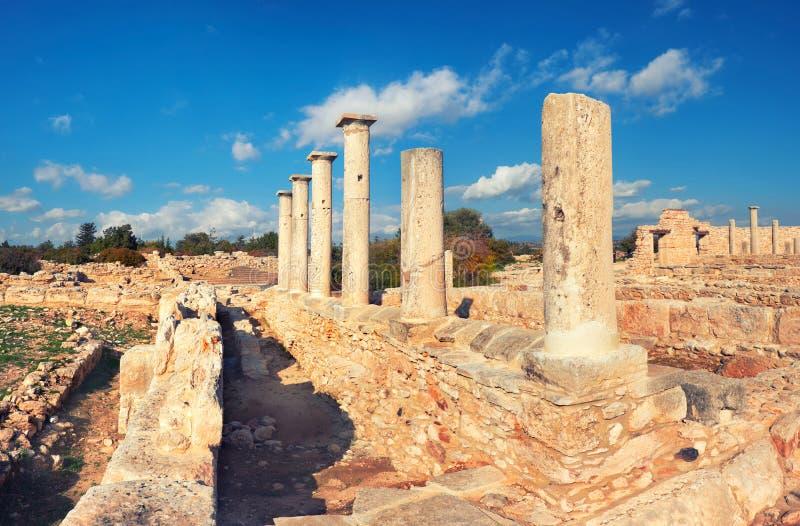 Le sanctuaire d'Apollo Hyllates en Chypre, Grèce images stock
