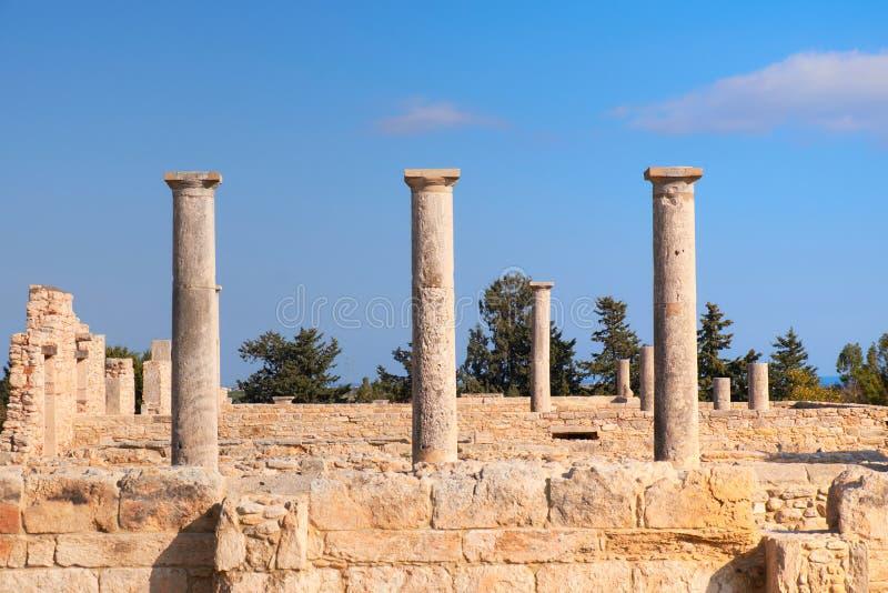 Le sanctuaire d'Apollo Hyllates en Chypre, Grèce photos stock