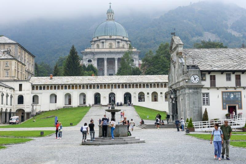 Download Le Sanctuaire D'Oropa Sur L'Italie, Héritage De L'UNESCO Image stock éditorial - Image du piémont, jardin: 77150464