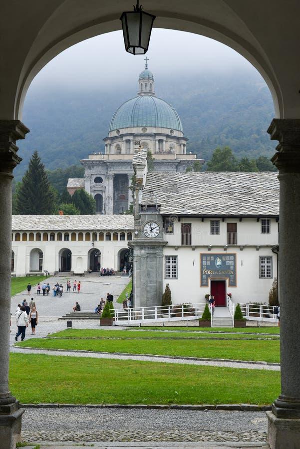 Download Le Sanctuaire D'Oropa Sur L'Italie, Héritage De L'UNESCO Image éditorial - Image du piémont, madonna: 77150995