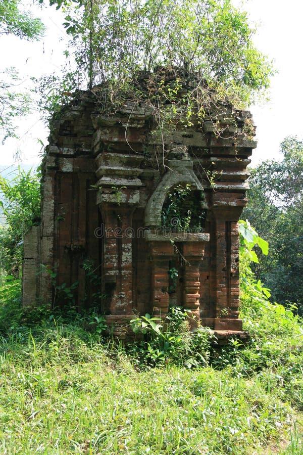 Le sanctuaire Homem poderoso de meu filho Vietname imagem de stock royalty free