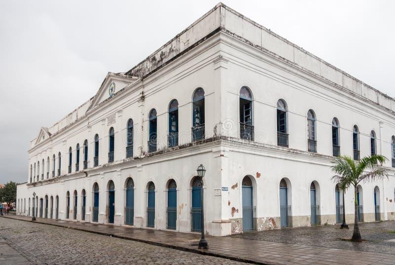 Le sao Luis de palais de Leoes font Maranhao Brésil images libres de droits