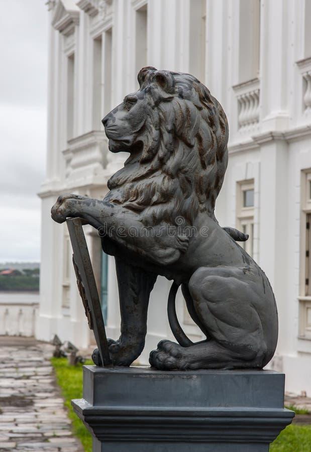 Le sao Luis de palais de Leoes font Maranhao Brésil photographie stock