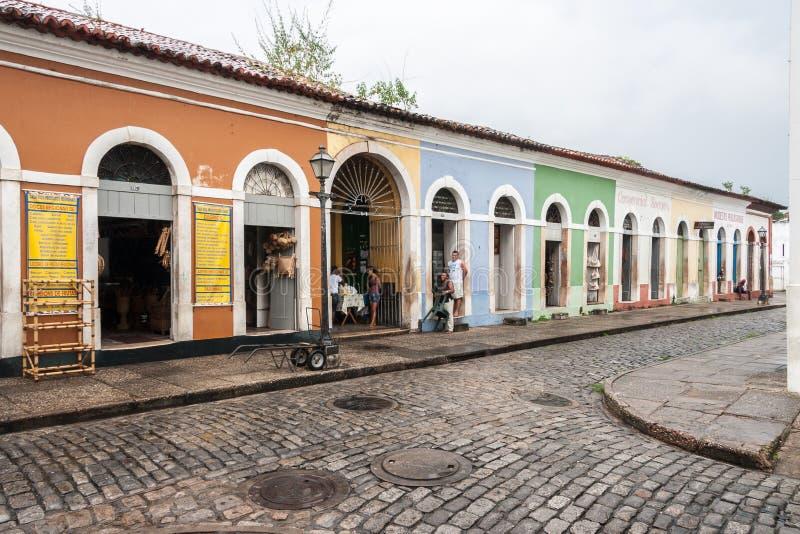 Le sao Luis font Maranhao Brésil photographie stock libre de droits