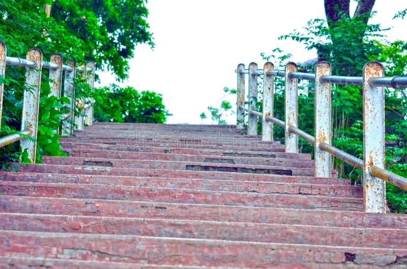 Le scale delle colline abbelliscono la vista immagini stock libere da diritti