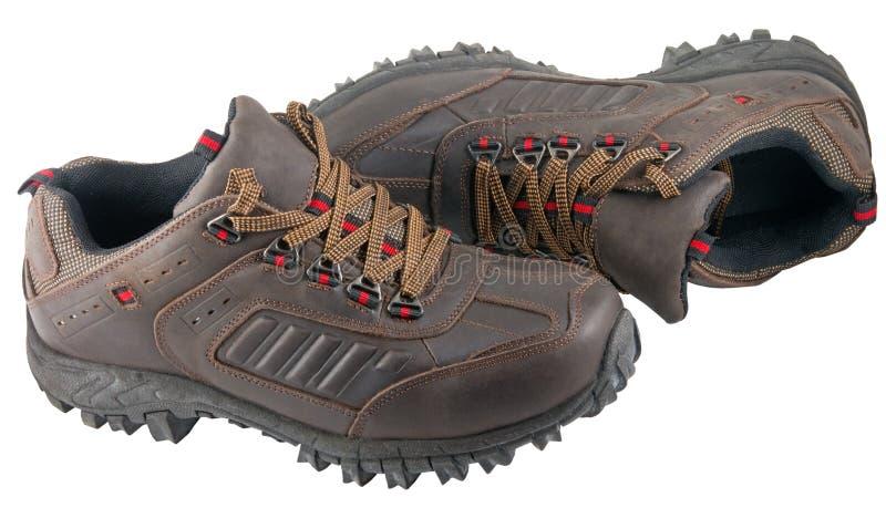 Le scarpe d'escursione immagini stock libere da diritti