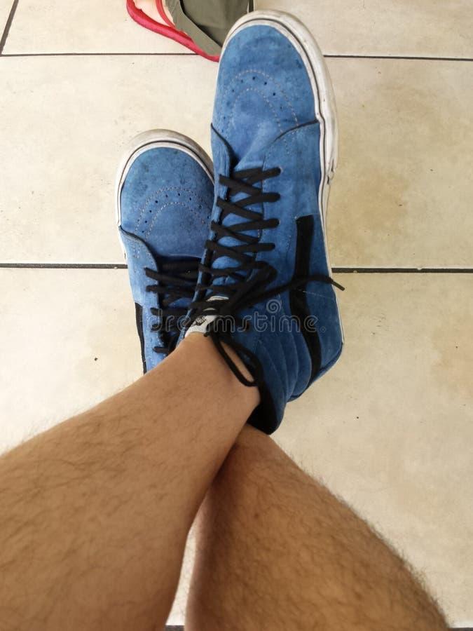 Le scarpe di Van fotografia stock libera da diritti