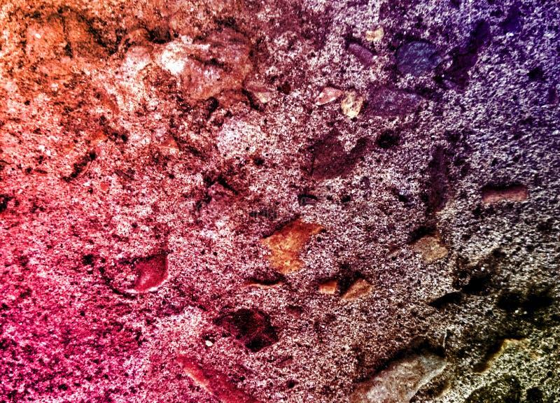 Le scintillement bascule la texture Catégorie, dur roches de colourfull Backgroundsmall, mur photos libres de droits